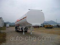 中商汽车牌ZZS9404GHY型化工液体运输半挂车