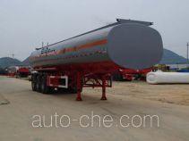 中商汽车牌ZZS9405GHY型化工液体运输半挂车