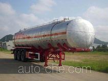 中商汽车牌ZZS9406GHY型化工液体运输半挂车
