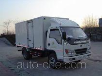 Xier ZZT5040XBW insulated box van truck