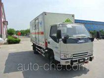 希尔牌ZZT5040XRY-4型易燃液体厢式运输车