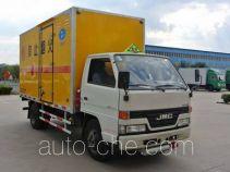Xier ZZT5040XYN-4 fireworks and firecrackers transport truck