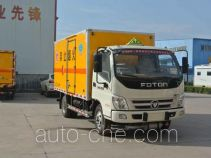Xier ZZT5070XRY-4 flammable liquid transport van truck