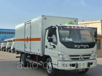Xier ZZT5090XRY-5 flammable liquid transport van truck